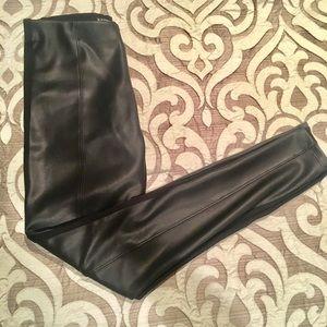 Express Brand faux black leggings XS